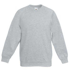 Fruit of the Loom Kid's Raglan Sweatshirt Image 7 of 9