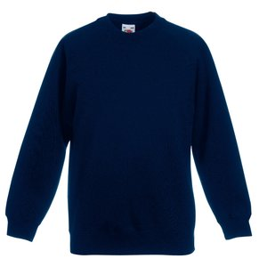 Fruit of the Loom Kid's Raglan Sweatshirt Image 8 of 9