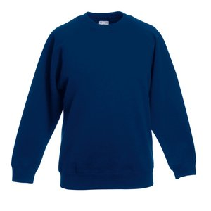 Fruit of the Loom Kid's Raglan Sweatshirt Image 9 of 9
