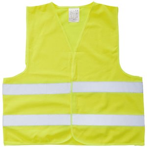 Hi Vis Safety Vest - Yellow Image 1 of 2