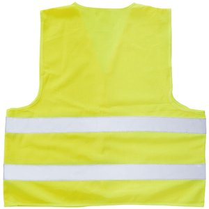 Hi Vis Safety Vest - Yellow Image 2 of 2