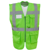 View Extra Image 5 of 26 of Hi Vis Executive Vest