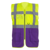 View Extra Image 8 of 26 of Hi Vis Executive Vest