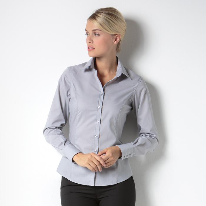 cd92c577a 4imprint.ie: Kustom Kit Women's Business Shirt - Long Sleeve 600772