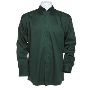 Kustom Kit Mens Corporate Oxford Shirt - Long Sleeve Image 2 of 10