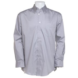 Kustom Kit Mens Corporate Oxford Shirt - Long Sleeve Image 3 of 10