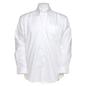 Kustom Kit Mens Corporate Oxford Shirt - Long Sleeve Image 4 of 10