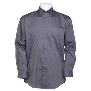 Kustom Kit Mens Corporate Oxford Shirt - Long Sleeve Image 5 of 10