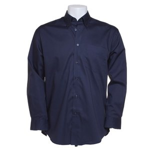 Kustom Kit Mens Corporate Oxford Shirt - Long Sleeve Image 6 of 10