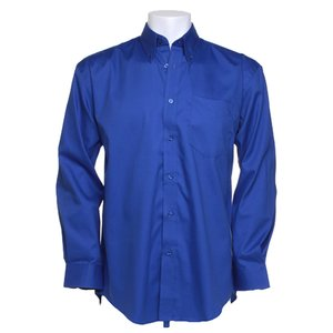 Kustom Kit Mens Corporate Oxford Shirt - Long Sleeve Image 7 of 10