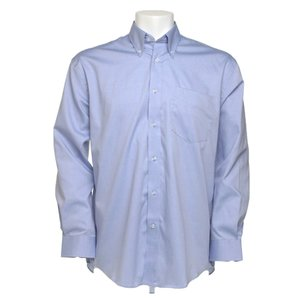 Kustom Kit Mens Corporate Oxford Shirt - Long Sleeve Image 8 of 10