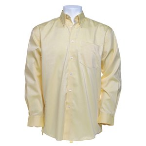 Kustom Kit Mens Corporate Oxford Shirt - Long Sleeve Image 9 of 10