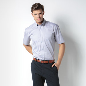 Kustom Kit Men's Corporate Oxford Shirt - Short Sleeve Image 2 of 2
