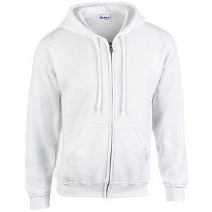 Gildan Zipped Hooded Sweatshirt - Embroidered