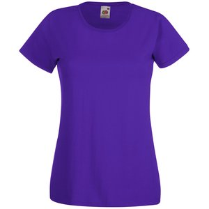 Fruit of the Loom Value Ladies Tee - Coloured Image 2 of 14