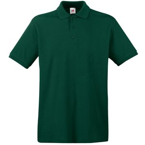Fruit of the Loom Premium Polo Shirt - Coloured Image 1 of 11