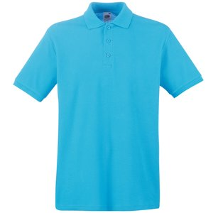 Fruit of the Loom Premium Polo Shirt - Coloured Image 3 of 11