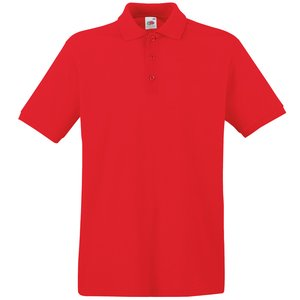 Fruit of the Loom Premium Polo Shirt - Coloured Image 7 of 11