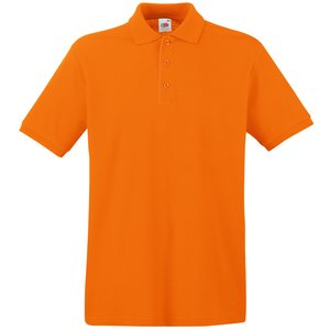 Fruit of the Loom Premium Polo Shirt - Coloured Image 8 of 11