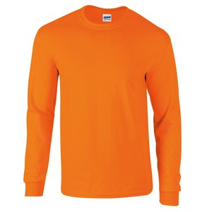 Gildan Ultra Long Sleeve Tee - Coloured Image 1 of 21