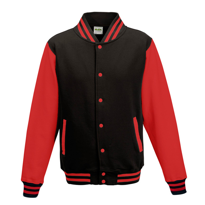 Imprint awdis varsity jacket embroidered e