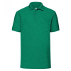 View Image 4 of 7 of Fruit of the Loom Value Polo - Colours - Printed