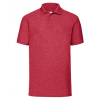 View Image 5 of 7 of Fruit of the Loom Value Polo - Colours - Printed