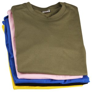 Fruit of The Loom Value Weight T-Shirt - Coloured Image 3 of 28