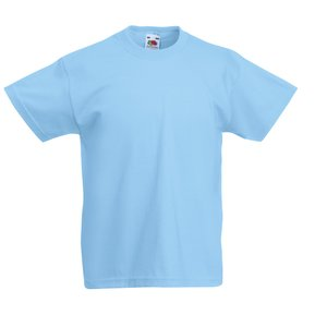 Fruit of the Loom Kid's Value Weight T-Shirt - Coloured Image 10 of 18