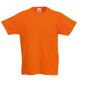 Fruit of the Loom Kid's Value Weight T-Shirt - Coloured Image 12 of 18