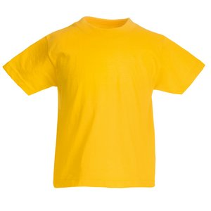 Fruit of the Loom Kid's Value Weight T-Shirt - Coloured Image 14 of 18
