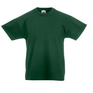 Fruit of the Loom Kid's Value Weight T-Shirt - Coloured Image 16 of 18
