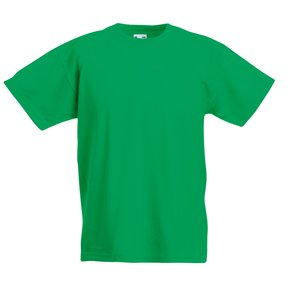 Fruit of the Loom Kid's Value Weight T-Shirt - Coloured Image 2 of 18