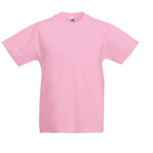 Fruit of the Loom Kid's Value Weight T-Shirt - Coloured Image 4 of 18
