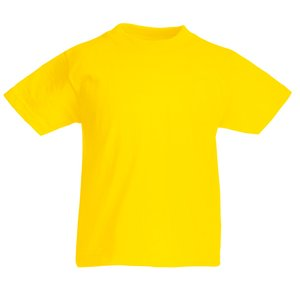 Fruit of the Loom Kid's Value Weight T-Shirt - Coloured Image 8 of 18