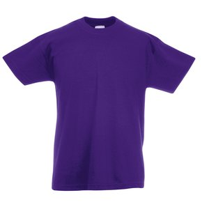 Fruit of the Loom Kid's Value Weight T-Shirt - Coloured Image 9 of 18