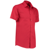 View Extra Image 3 of 14 of Kustom Kit Men's Poplin Shirt - Short Sleeve
