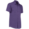 View Extra Image 5 of 14 of Kustom Kit Men's Poplin Shirt - Short Sleeve