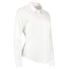 View Extra Image 1 of 15 of Kustom Kit Women's Poplin Shirt - Long Sleeve