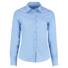 View Extra Image 8 of 15 of Kustom Kit Women's Poplin Shirt - Long Sleeve
