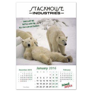 Wall Calendar - Animal Antics Image 1 of 1