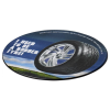 View Image 4 of 5 of Tyre Brite-Mat Coaster - Round