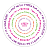 View Image 5 of 5 of Tyre Brite-Mat Coaster - Round