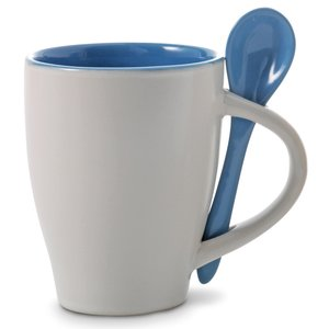 Coffee Mug With Spoon