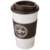View Extra Image 13 of 13 of Americano Travel Mug - White with Coloured Lid