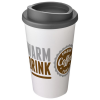 View Extra Image 1 of 3 of Americano Travel Mug - White