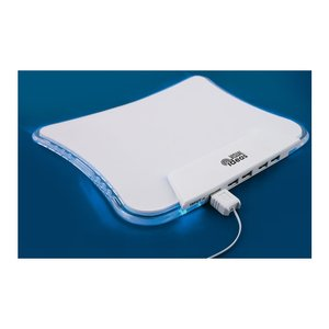 DISC Mousemat with 4 Port USB Hub