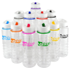 View Extra Image 3 of 3 of 800ml Sports Bottle with Straw - White - 3 Day