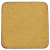 View Extra Image 1 of 1 of Square Cork Coaster - Full Colour