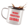 View Extra Image 3 of 3 of 285ml Retro Enamel Mug - Full Colour - Individual Name